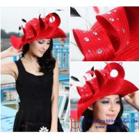 China New Design Women satin church hats wholesale / wholesale church hats / church hat on sale