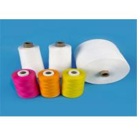 China Raw White 40s/2 100% Virgin Polyester Spun Yarn for Sewing Thread High Tenacity on sale