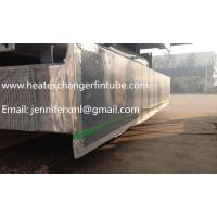 Quality Carbon Steel Base Tube Material Single Row Flat Fin Tube Hot Dip Galvanized for sale