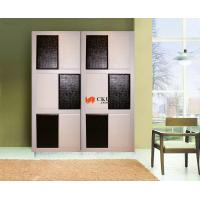 China Exquisite 4 x 8 Dressing Room / Bedroom Leather Sliding Door Acrylic Sheet on sale