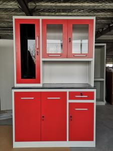Quality 2000mm High 2000mm Wide Steel Kitchen Cabinet for sale