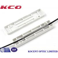 Buy cheap FTTH Optic Fiber Drop Cable Protection Box KCO - PB-S-01 For 60mm Optical Sleeve product