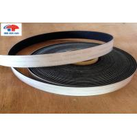 Quality Industrial Strength 6 Inch Hook And Loop Fastener Tape Black With Glued for sale