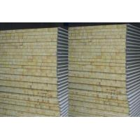Quality Insulated rock wool sandwich wall panel for sale