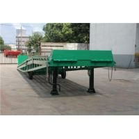 China 6 - 10 Tons Mobile Loading Ramp DCQY10-0.8 For Container Loading / Unloading on sale