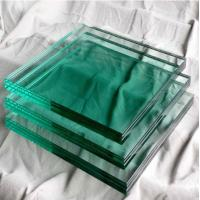 Quality Outdoor Glass Building Material Solid 8mm Toughened Glass For Doors for sale