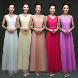 China Deep V Neck Lace Cute Dress Butterfly Bride Dresses Factory Wholesale Bridesmaids Dress on sale
