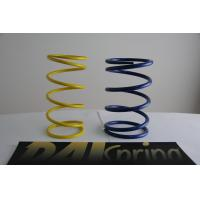Quality Heat resistance SWPA yellow / blue light duty compression springs / compression coil spring for sale
