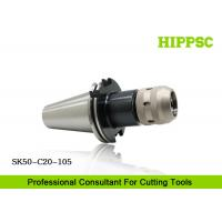 Face Milling Power Tool Holders For CNC Working  SK 50 Spindle Made Of 20CrNiMo