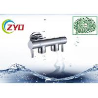 """Buy cheap 1/2""""x1/2"""" Two Way Two Handle Brass Chrome Finish Bathroom Shower Adapter Shower Arm Shower Hand Faucet Water Diverter product"""