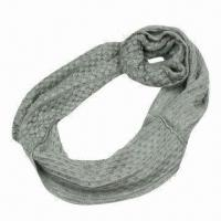 Quality Corn Knitted Scarf for Various Use, Made of Acrylic, Very Soft/Warm Neck Warmers, Fashionable Design for sale