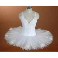 China Swan lake dance costumes child and adult bitter fleabane ballet tutu dress white condole belt performance dance clothing on sale