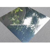 China Mirror Finish Reflective Aluminum Sheet , 1.50mm Thickness Aluminium Reflector Sheet on sale