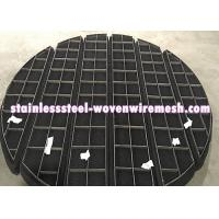 Buy cheap ROUND/SQUARE/CUSTOMIZE Titanium Wire Mesh Demister Pad Mist Eliminator For Anti from wholesalers