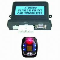 Quality Fingerprint Immobilized Car Alarm System with Two-way Disable Relay and Built-in 40A Relay for sale