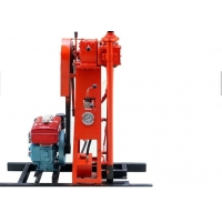 China 50m Portable Hydraulic 13000w Water Well Drilling Rig on sale