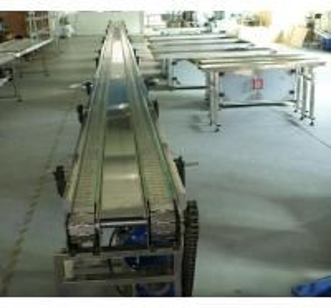 20 m stainless steel chain type conveyor belt