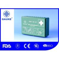 Quality Multiple Components Car Medical Kit , All Purpose First Aid Kit For Automobile for sale