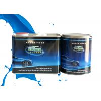 Quality Mixed Blue Shining Silver Metallic Automotive Paint Heat Resistant Adjustable Size for sale