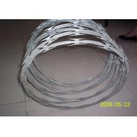 Quality Stainless Steel Razor Barbed Wire Outside Diameter 450 - 960 Mm Excellent Protection for sale