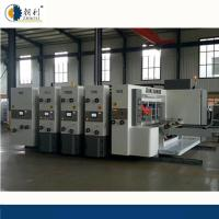 Auto Flexo Printer Slotter Machine / Carton Manufacturing Machine High Speed