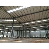 Quality Easy Assemble Light Weight Warehouse Steel Structure Single Or Double Span for sale