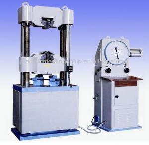 China universal tensile testing machine price WE-1000C on sale