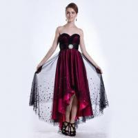 Quality 2012 A-line Strapless Bridesmaid/Evening Dress/Ball Gown with Fashionable Accessory for sale