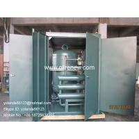 Quality Online Transformer oil filtraiton | Dielectric system maintenance | Oil Purifying Machine for sale