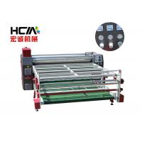 Quality 3 Phase Rotary Heat Press Machine / 42cm Roller Diameter t Shirt Printing Press for sale