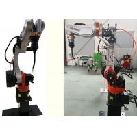 China 10kg Payload Robotic Welding Machine , Automated Welding Systems Small Footprint on sale