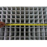 China BWG 6 Square Wire Panels Low Carton Steel Silver For Construction on sale