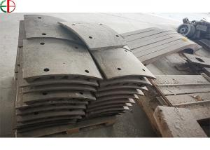 Quality Impact Crusher High Chrome Or Ceramics Insert Blow Bar With Liner Plate for sale