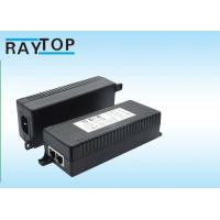 Quality 12V / 24V / 36V / 48V POE Adapter Power Over Ethernet Input 100 - 240V AC 50 / 60Hz for sale