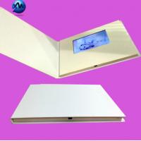 Buy cheap 4.3 Inch Lcd Video Brochure With Video Screen , Hard Cover Video Greeting Card product