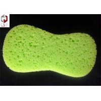 Quality Yellow Kitchen Washing Sponge Foam With Pore For Household Cleaning for sale