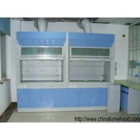Quality Laboratory Steel Fume Hood , Lab Fume Cupboard With PP Sink / Water Faucet for sale