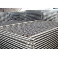 Buy cheap Light Pool Construction Temporary Security Fencing Strong And Robust Design from wholesalers