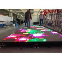 Quality P4.81 RGB Full Color LED Video Dance Floor For Night Club Stage Disco for sale