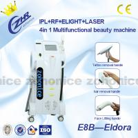 Quality 1Hz - 5HZ Vertical  3 IN 1 E-light + IPL + ND YAG hair removal machine for beauty salon for sale