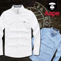 China Wholesale 2015 New arrival designer double a-ape fashion AAA quality gentlemen's shirts on sale
