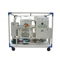 Quality Transformer Insulation Oil Purifying Machine With Dehydration ISO / CE Certification for sale