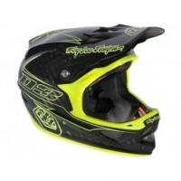 Quality TROY LEE 2013 D3 Carbon Helmet | PINSTRIPE YELLOW for sale