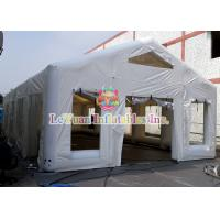 Buy cheap Wedding Banquet Inflatable Party Tent With Window / House Shape / Air Sealing product