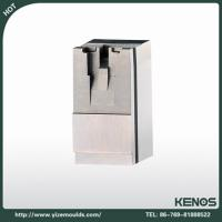 Buy cheap Plastic mold components,low steel plastic mould components,White Steel mold part from wholesalers