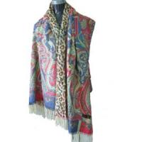 Quality Pashmina (Lurex Check) (LC095) for sale