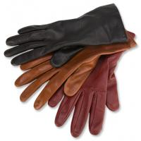 Quality cow grain leather glove lady leather driving gloves for sale