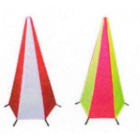 Quality Collapsible Iron 600mm Reflective Traffic Cones for sale