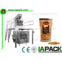 China Cashew Kernels Packing Machine With 10 Head Weigher 50G-500G Doypack Packing Machine bag width up to 300mm on sale