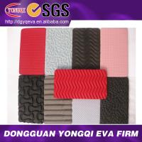 Textured EVA sheet for shoe soles
